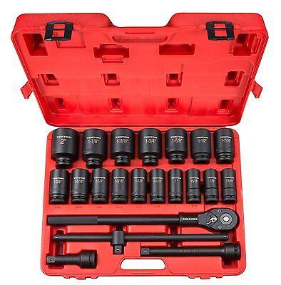TEKTON 22-pc. 3/4 in. Drive Deep Impact Socket Set 6-point 48995 NEW