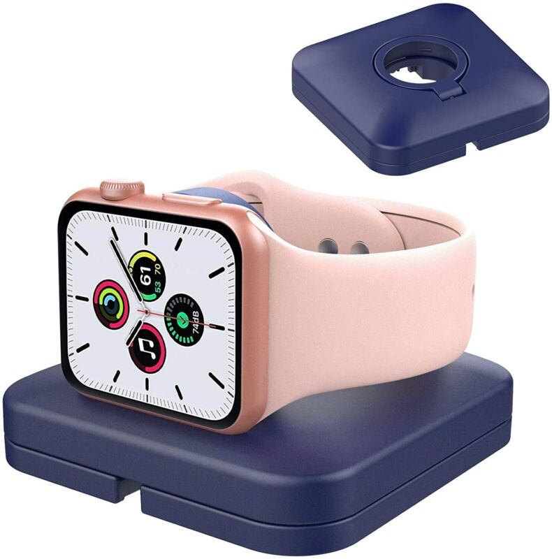 For Apple Watch Series 6 SE 5 4 3 2 1 Charger Stand Charging Dock Holder Case