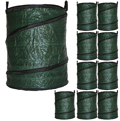 Garden Compost Bag Large Reusable Home Composting Collapsible Pop-Up 90L x 10