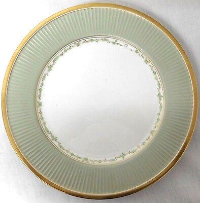 FITZ & FLOYD CLASSIQUE PAPILLION DINNER PLATE S MINT GREEN BUTTERFLY