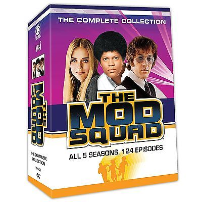 The Mod Squad: The Complete Collection - 20 Disc Set  (DVD, 2017)  Free Shipping