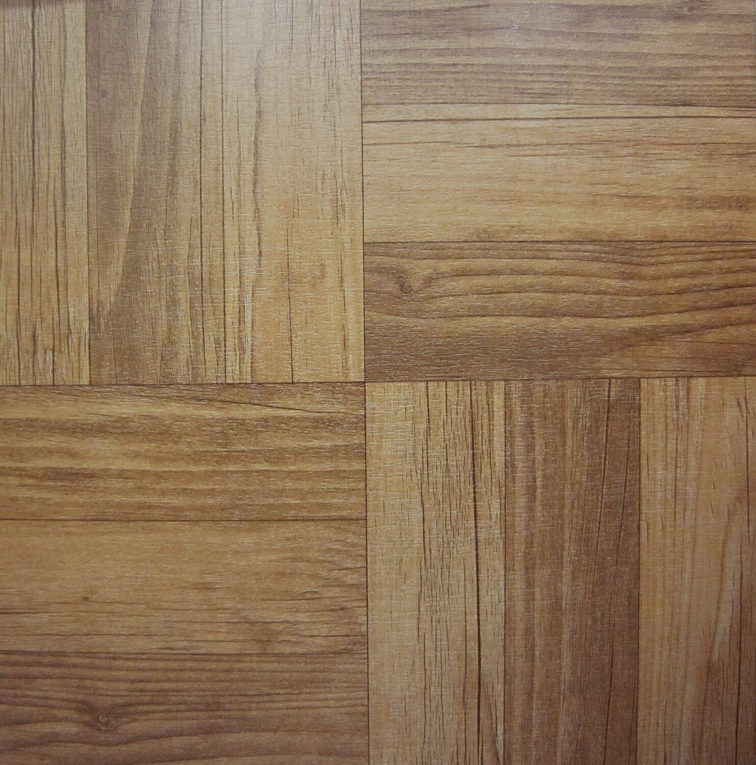 28 X Dark Wood Sq Self Adhesive Stick On Vinyl Flooring