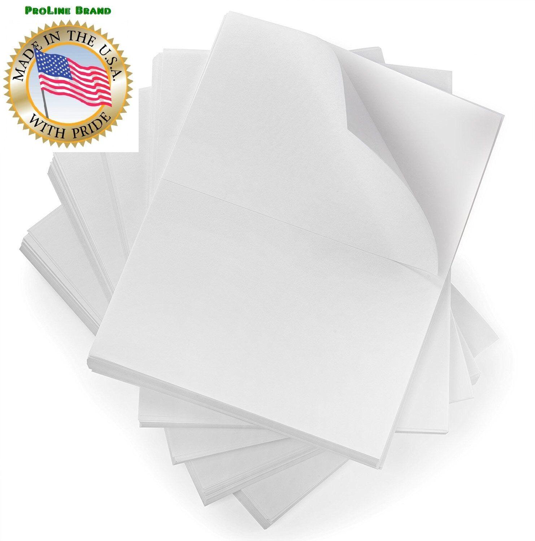 1000 8.5x5.5 Premium Shipping Labels Half Sheet Self Adhesive USPS UPS FedEx USA