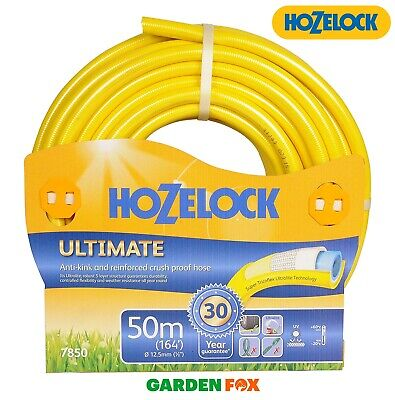 SALE - HOZELOCK ULTIMATE Garden WATER HOSE 50 Metres - 7850 5010646055574 D