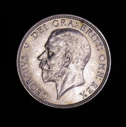 1936 Great Britain Florin silver coin BU Uncirculated George VI 2 Shillings