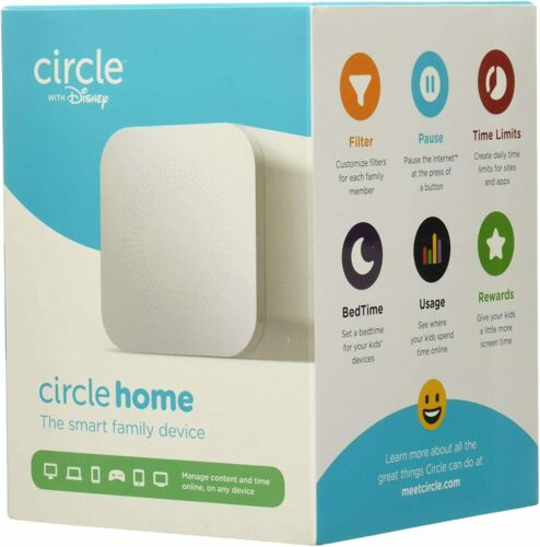 Open Box Circle with Disney In-Home Parental Controls for WiFi Connected Devices