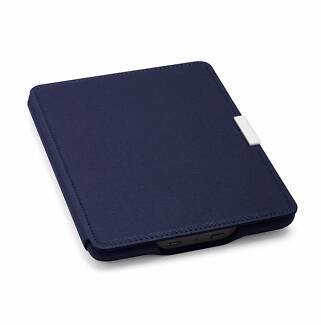 NEW & SEALED: Genuine Kindle Paperwhite Leather Case (Blue)