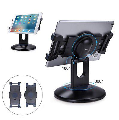 Apple iPad 9.7/Pro 10.5/Pro 12.9 Stand 360° Rotate Holder Swivel Ergonomic New