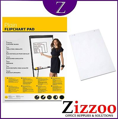 A1 Flip Chart Pad 40 Plain Sheets For Flipcharts And Easels