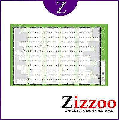 ACADEMIC WALL PLANNER 2019 TO 2020 W855 x H610MM MOUNTED NOT CHEAP PAPER! - Cheap Planners