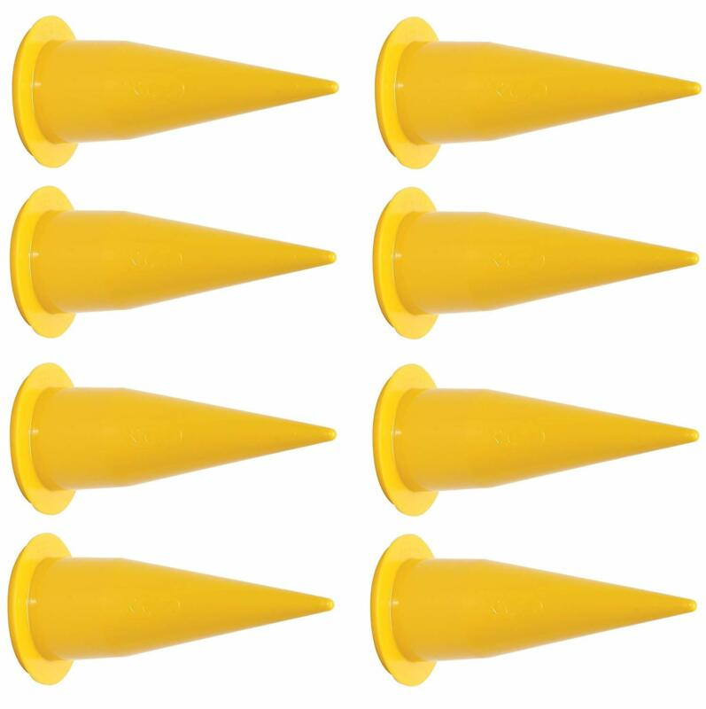 Sulzer 2N1006 Yellow Cone Nozzle 8-Pack