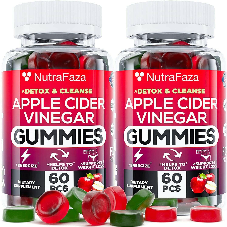 Apple Cider Vinegar Gummies for Immune Support,Detox