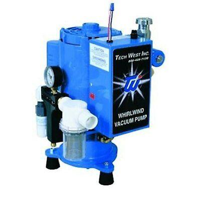 New Tech West Dental Whirlwind Liquid Ring Vacuum 2 Hp Pump Vpl4s2 4 Users