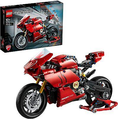 LEGO Technic 42107 - Moto DUCATI Panigale V4 R bike - 646 pièces