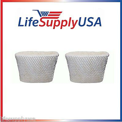 2 Replacement Wick Filter C for Holmes HWF65, Sunbeam SCM1895 1866 SF206, WWH650 - Holmes Wick Filter