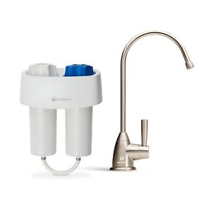 under counter water filter system filtration drinking kitchen sink cartridge tap