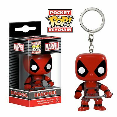 Funko Pocket Pop Keychain Marvel: Deadpool Vinyl Action Figure Collectible Toy