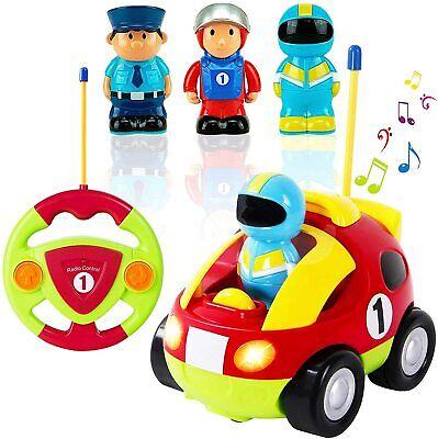 RC car Kids Baby Toddlers Cartoon Astronaut R/C Race Radio Control Toy Children