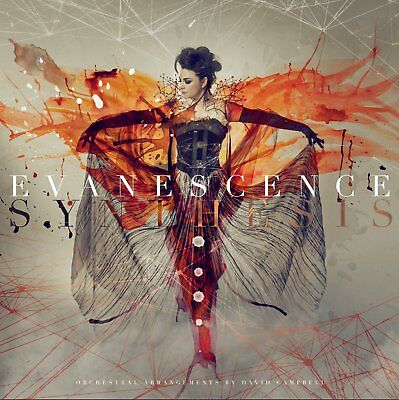 EVANESCENCE SYNTHESIS DIGIPAK CD & DVD ALL REGIONS NTSC NEW