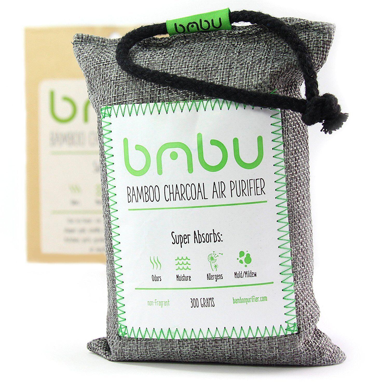 300g Bamboo Charcoal Air Purifier Bag  Car Deodorizer And Air Freshener