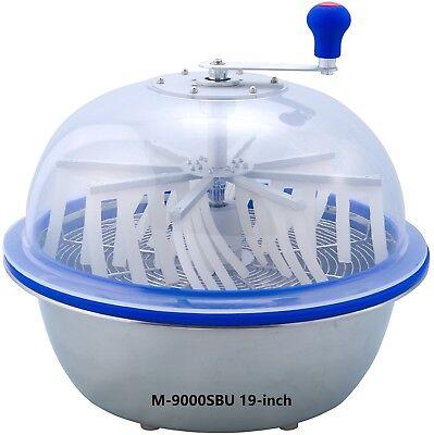 VR GROW the clean cut M-9000SBU Series Bowl Leaf Trimmer 19-inch Hydroponic -