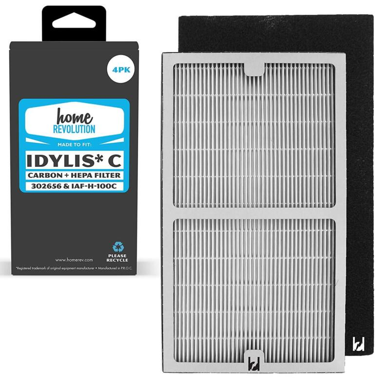 Part # Iaf H 100C For Idylis Air Purifiers Iap 10 200 280 Comparable 2 Hepa New