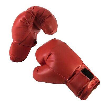 Adulto Guantes Boxeo Hombre Mujer Bóxer Deporte Accesorio para Disfraz