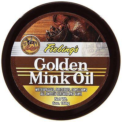 Fiebing's Golden Mink Oil Paste Leather Conditioner (Mink Oil Paste)