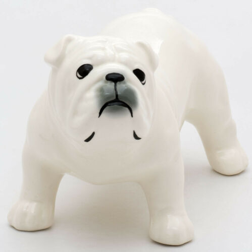 Porcelain Figurine of the English Bulldog Dog