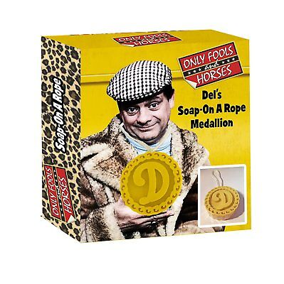 Only Fools & Horses Del Boys Soap On A Rope Official -  DISCOUNTED