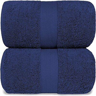 Luxury Bath Sheet Towels Extra Large   35x70 Inch   2 Pack,