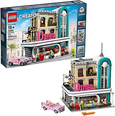 LEGO 10260 Creator Expert - Downtown Diner - Brand New - Fast Shipping