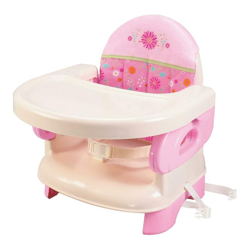 Pink Toddlers Portable High Chair Booster Seat Foldable Infa