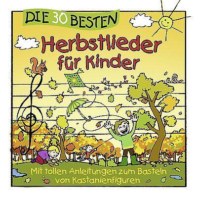 Die 30 besten Herbstlieder für Kinder CD NEU & EINGESCHWEIßT