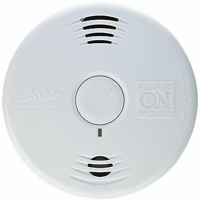 Kidde 10-Year Sealed Battery Smoke & Carbon Monoxide Detector with Voice Alarm Carbon Monoxide Detector Battery