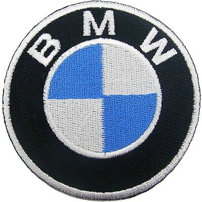BMW Iron On Patch, Car, Van, Sew on