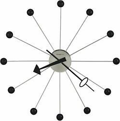 Howard Miller Ball Wall Clock II 625-527 – Retro Classic & Quartz Movement