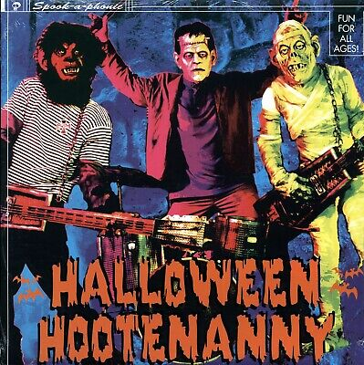 SEALED NEW LP Rob Zombie, Zacherle, The Bomboras, Rocket From The Crypt, Etc. -](Zacherle Halloween)