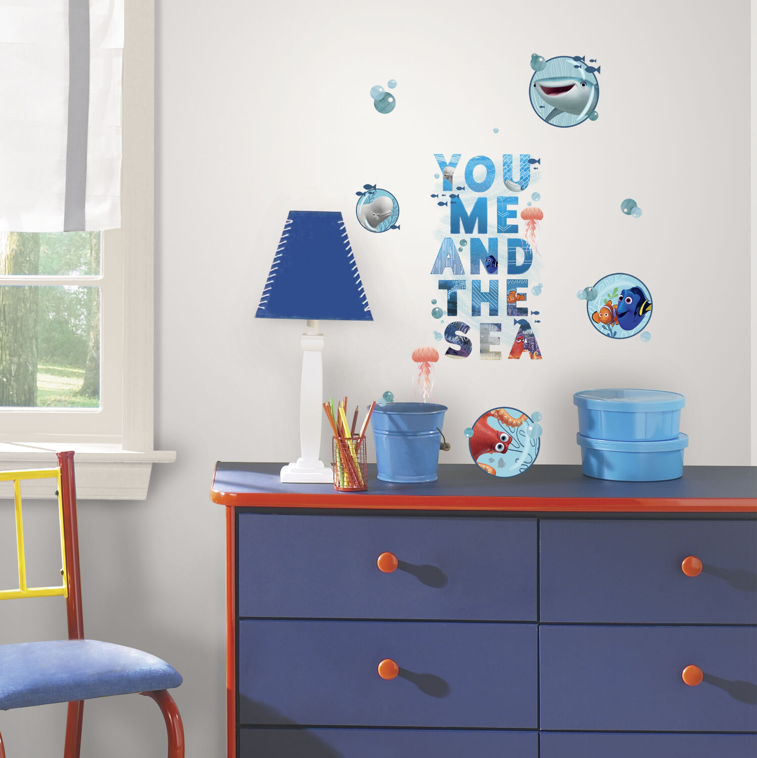19 FINDING DORY QUOTE WALL STICKER  Disney Decals Kids