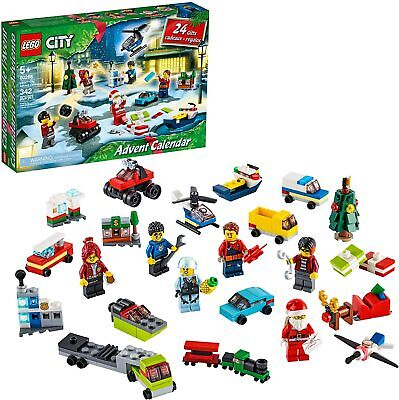 LEGO City Advent Calendar 24 Christmas City Gift Set Ships Quick from US! 60268