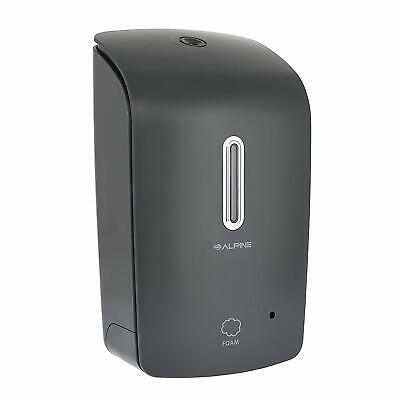Alpine Industries Gray Wall Mount Automatic Hands-free Foam Soap Dispenser