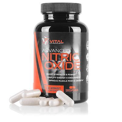 Best Complex Nitric Oxide Supplement L-Arginine Alpha Glutamine - 120