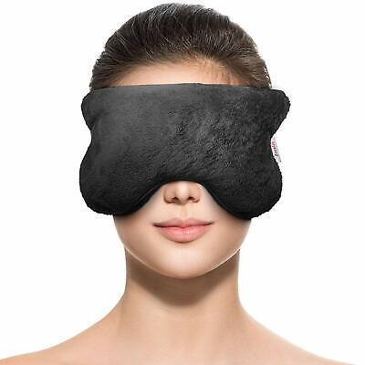 Aromatherapy Eye Mask Pillow: Microwavable Heating Pad; Relieves Headache, - Aromatherapy Heating Pads
