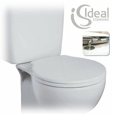 Ideal Standard Space Toilet Seat & Cover White E7091 Genuine Spare