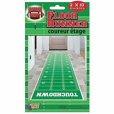 Football Sports Super Bowl Watch College Theme Party Decoration Floor Runner - Football Themed Parties