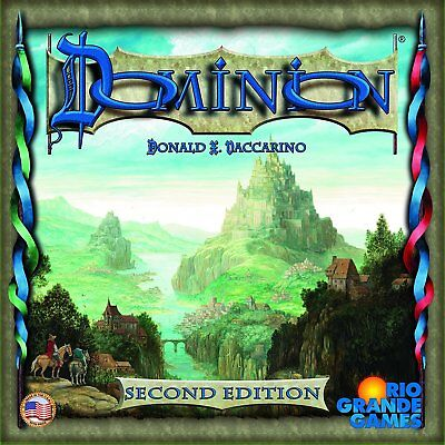 Dominion Second Edition Deck Building Card Game Base Board Game Second Edition