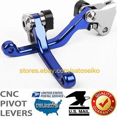 FOR YAMAHA YZ125/250/F/YZ426F/450F/YZ250X/TTR250 PIVOT BRAKE CLUTCH LEVER SET -