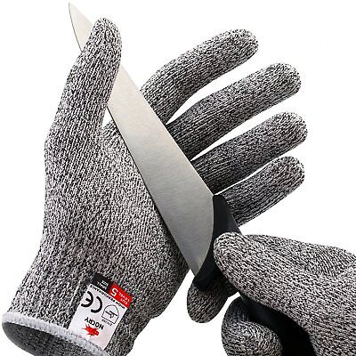 NoCry Cut Resistant Gloves - High Performance Level 5 Protection Food Grade