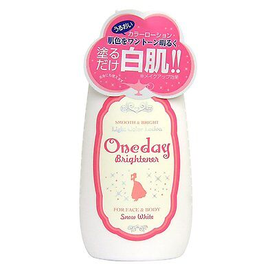 One Day Brightener for face&body snow white light color lotion 120ml