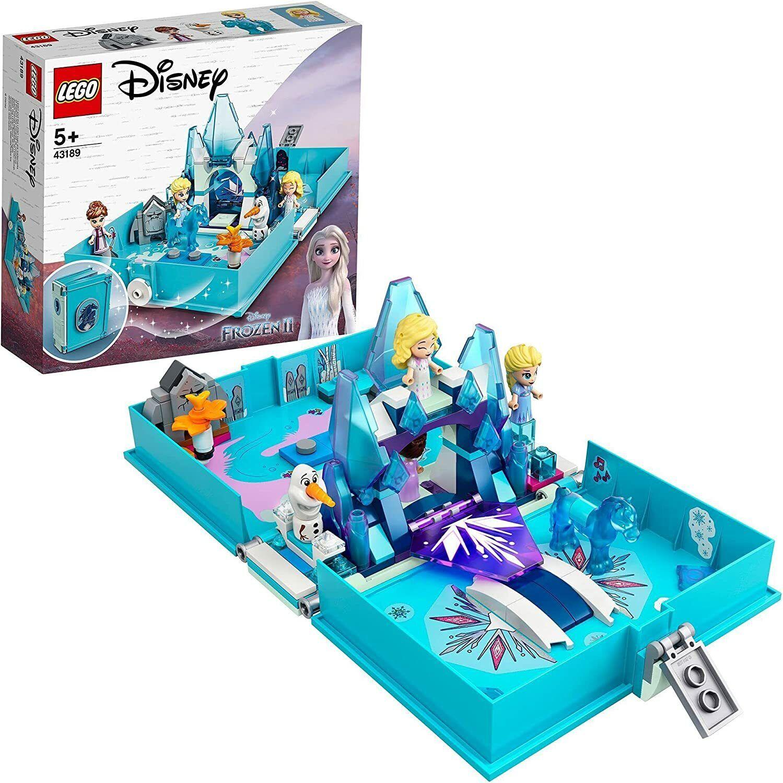 LEGO 43189 Disney Princess Eiskönigin Frozen 2 Elsas Märchenbuch Spielzeug Set